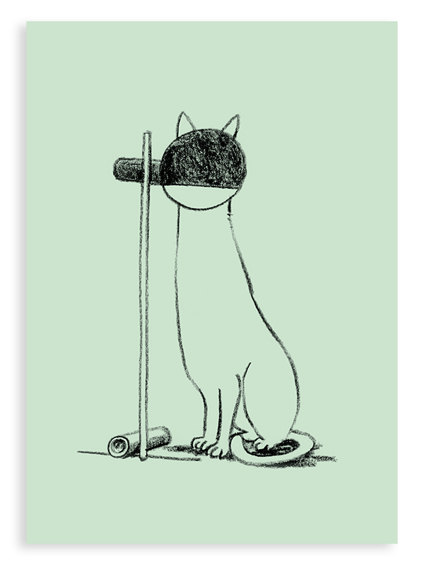 Postkarten-Set Tecta Cat